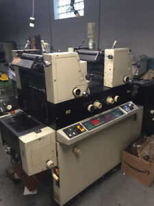 Itek 3985 Small Offset Printing Press