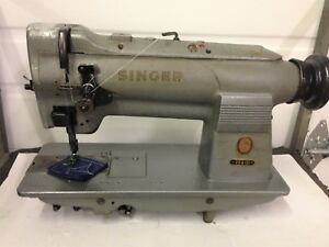 Singer 211g151 Heavy Duty Upholstery Needle Feed Industrial Sewing Machine