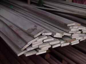 Alloy 304 Stainless Steel Flat 3 8 X 5 X 48