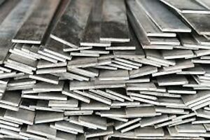 Alloy 304 Stainless Steel Flat Bar 1 2 X 1 X 72