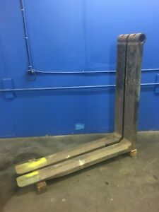 Steel Coil Chamfered Forklift Forks 30 000 Lb Capacity ontario Calif