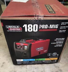 New Lincoln Electric 180 Pro Mig Flux Wire Feed Welder Welding K2481 1