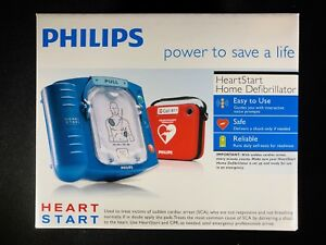 Philips Heartstart Aed Home Defibrillator Model M5068a Brand New