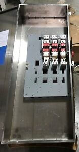 Cutler Hammer Eaton Safety Switch Dh366uwk316 600 Amp 600v Non Fused 4x Stainles