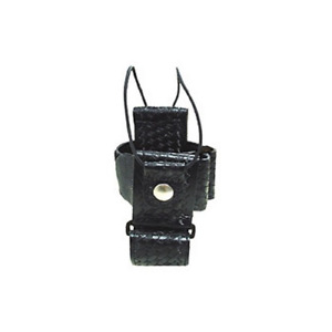 Boston Leather 5610 3 Black Bw Multi adjustable Radio Holder holster