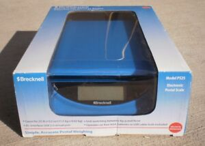 25lb Blue Brecknell Electronic Postal Scale Ps25 Pc usb Port Lb kg