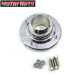 Chrome 1 3 4 1 75 Steering Column Floor Mount Split Swivel Sbc Bbc 350 Hot Rod