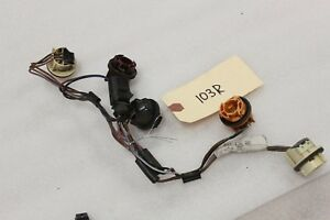 Porsche 997 Carrera 911 Rear Tail Light Stop Lamp Wiring Harness Cable Loom Plug