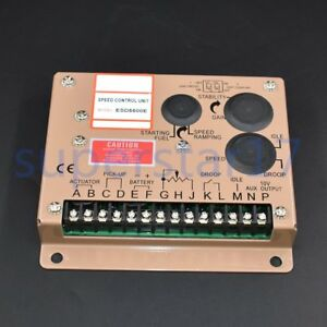 Electronic Engine Speed Controller Governor Esd5500e Generator Genset Parts Us