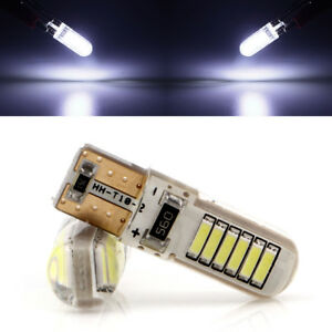 100pcs Canbus T10 194 168 W5w 4014 12smd Silica Led White Car Side Wedge Lights