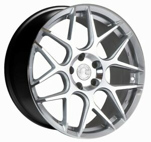18x8 35 Aodhan Ls002 5x114 3 Silver Wheel Fit Civic Si Accord S2000 Crz Prelude