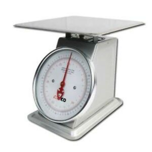 Kitchen Weight Scale Mechanical Dial Platform Precision Food Weighing Tool