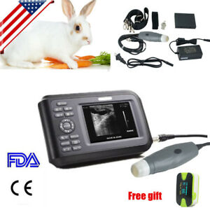 Ultrasound Scanner Machine Handheld Machine Animal Veterinary 2 Years Warranty