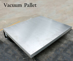 Screen Printing Vacuum Pallet 20 x 24 Stainless Steel Press Tool Vacuum Pump