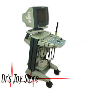 Bk Medical Falcon 2101 Ultrasound Machine With 8658t 8658s Transducer