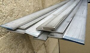 Alloy 304 Stainless Steel Flat Bar 1 2 X 6 X 24