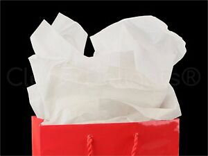 Cleverdelights White Recycled Tissue Paper 500 Sheets 20 X 30 Acid free