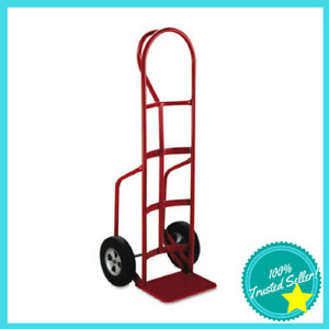 Milwaukee Heavy duty Hand Truck P Handle Solid Rubber Wheel Steel Red mwk33045