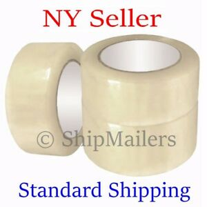 36 Rolls Clear Box Carton Sealing Packing Tape Shipping 2 Mil 2 X 110 Yards