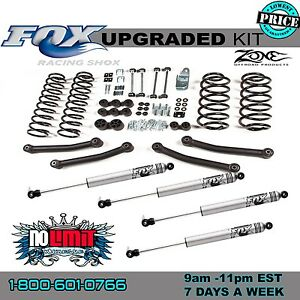 Jeep Wrangler Fox Tj 4 Lift Kit 2003 2006 4wd Zone Offroad J11