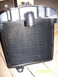 Farmall Super A Tractor International Radiator New