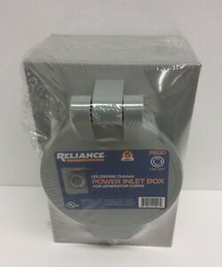 Reliance Controls Pb30 30 Amp Power Inlet Box For Inlet Box For Generator Cords