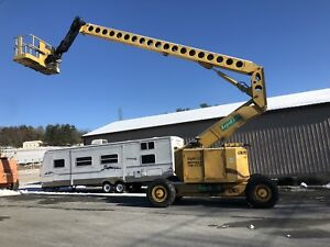 Grove Amz86xt 4x4x4 80 Telescopic Articulating Diesel Boom Man Lift W Jib