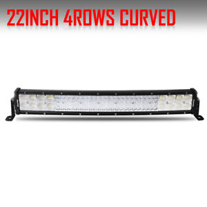 23inch Led Light Bar Quad Row 1680w Combo Truck 4wd Driving Lamp Ip68 22 24