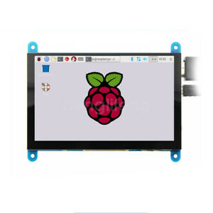 New 5 Inch Capacitive Touch Screen Lcd Display 800 480 For Raspberry Pi Win 10