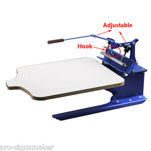 1 Color 1 Station Silk Screen Printing Machine Diy T shirt Press Printer