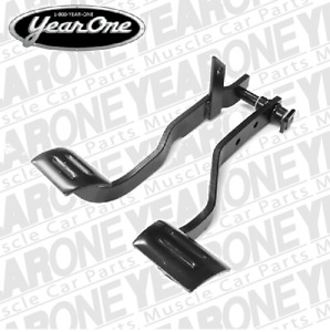 1967 Chevelle Clutch And Brake Pedal Assembly Tw3910