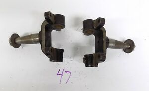 1936 36 Buick Front Steering Knuckle Spindle Set