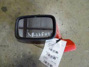 84 Porsche 944 Left Driver Side Door Mirror Red
