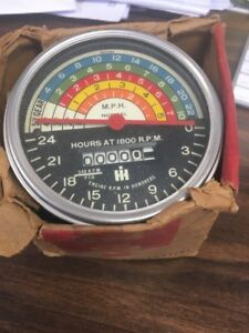 International Farmall 560 New Old Stock Tachometer