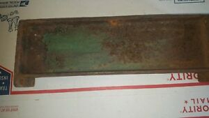John Deere Unstyled B Radiator Side With X In Casting B396r X