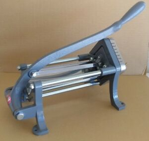 French Fry Maker Fries Cutter Commercial Restaurant Potato Vegetable Slice Dicer