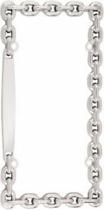 Chrome Chain License Plate Frame Universalcar Truck Front Rear Plate