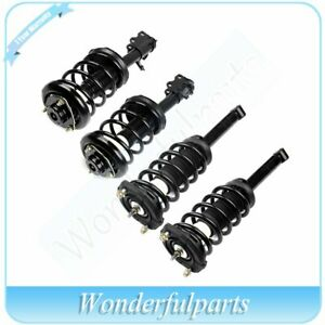 4pcs For 2000 2001 Nissan Maxima Complete Struts Shocks Coil Spring Assembly
