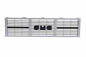 Am Front Grille Silver Gray For 85 88 Gmc C K Jimmy 87 88 R V Pickup Dual Lamp