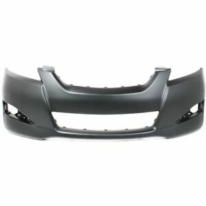 Am Front Bumper Cover For Toyota Matrix Without Spoiler Hole
