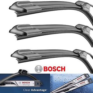 Bosch Clear Advantage Front Left Right Rear Wiper Blades Set 22 22 16