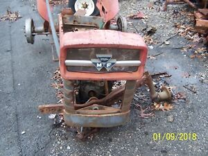 Mf Massey Ferguson 135 Tractor Front Nose Rh Side Panel Wrap Around For Grille