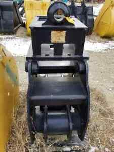 C P Excavator Mounted Hydraulic Plate Compactor With Quick Connect