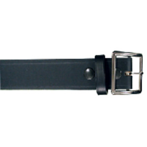 Boston Leather 6505l 3 32 Black Bw 1 75 Nickel Lined Garrison Belt 32