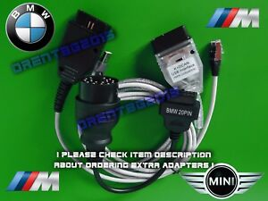 Bmw 2019 Rheingold K dcan Enet 20 pin Adapter Full Diagnostic Package Fault