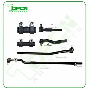 6pcs Front Outer Inner Tie Rod Ends For 1999 2005 Ford Excursion F 250 F 350 4wd