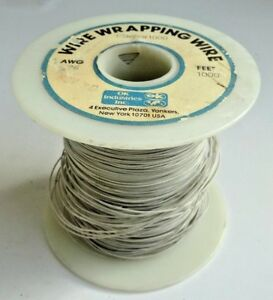 1000 Ft Spool maybe Less 26 Gauge Kynar Insulated Wire Wrap White