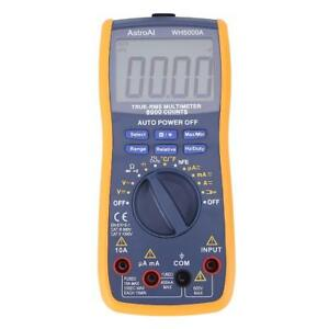 Magnet Digital Multimeter Ac dc Ammeter Voltmeter Clamp Head Measurement Tester