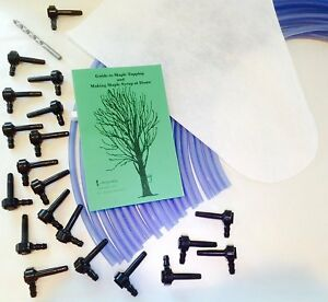 20 Tree Maple Tapping Starter Kit free Shipping Sap Collecting Syrup Making