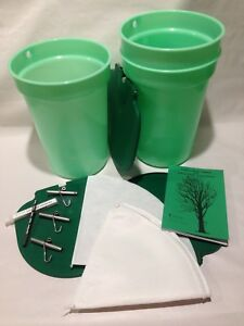 Premium Maple Syrup Kit 3 Buckets W lids Etc free Shipping Sap Collecting